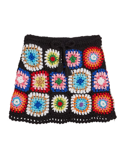 Girl's Crochet Skirt, Size S-XL