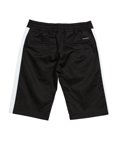 Boy's Gabardine Stretch Shorts, Size 8-12