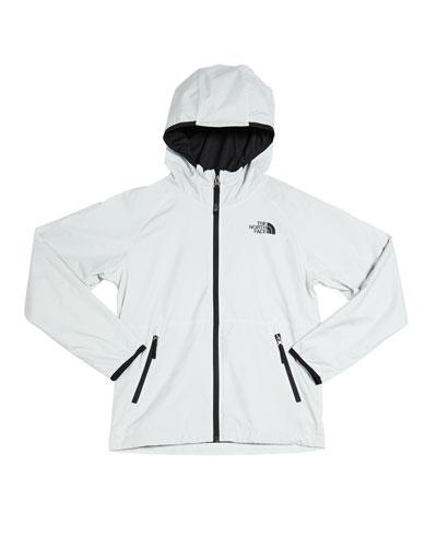 Boy's Windy Crest Hooded Zip-Up Jacket, Size XXS-XL