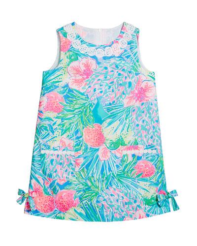 Girl's Little Lilly Sleeveless Shift Dress  Size 2-10