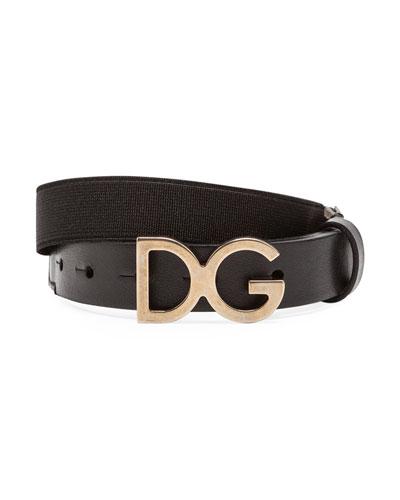 Kid's DG Leather Belt