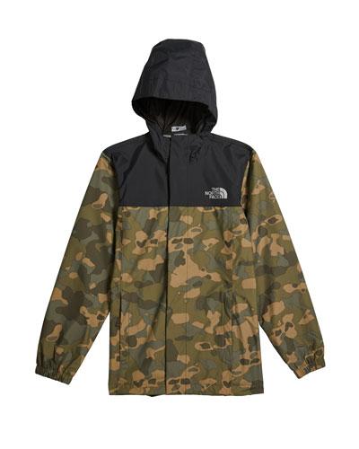 Boy's Resolve Reflective Camo Jacket  Size XXS-XL