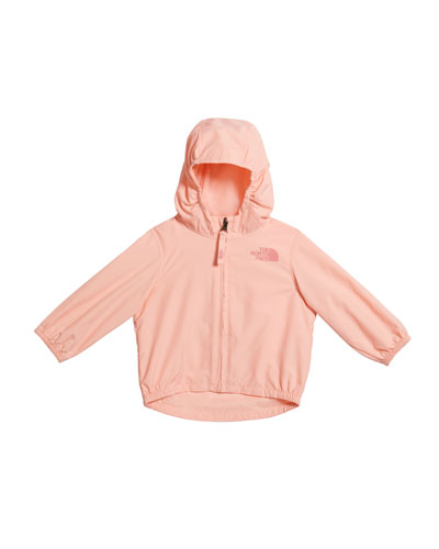 Girl's Flurry Wind-Resistant Hooded Jacket  Size 6-24 Months