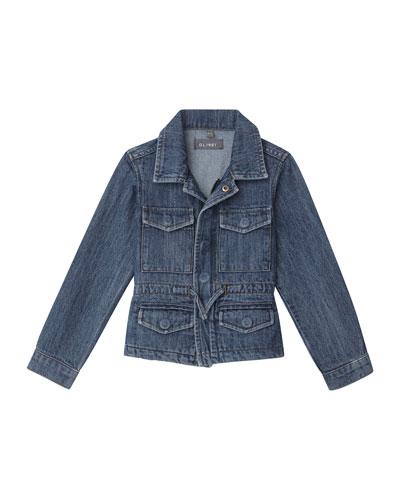 Girl's Rocco Utility Jacket  Size 2-6X