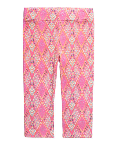 Girl's Eleni Print Leggings  Size 7-14