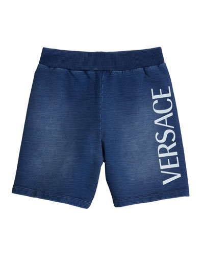 Boy's Logo Bermuda Shorts  Size 4-6