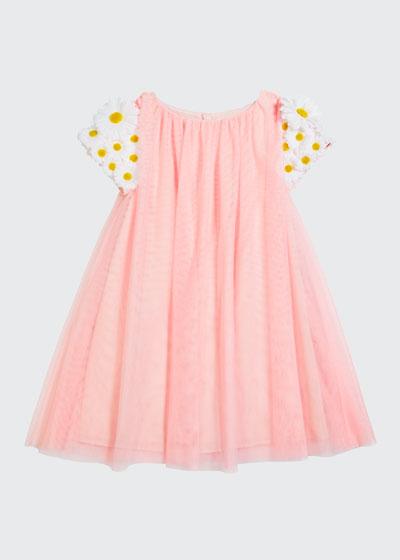 Girl's Tulle 3D Butterfly Dress  Size 4-5