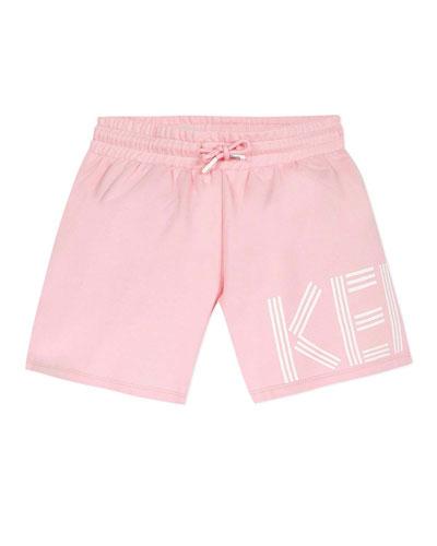 Girl's Logo Fleece Shorts  Size 2-6