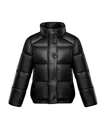 Girl's Hortensia Nylon Ripstop Jacket  Size 4-6