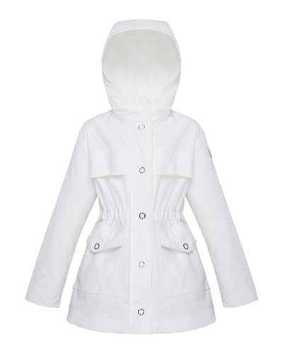Girl's Technique Short Snap Front Parka  Size 8-14
