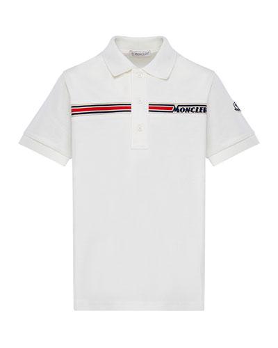 Boy's Short-Sleeve Logo Polo Shirt  Size 4-6