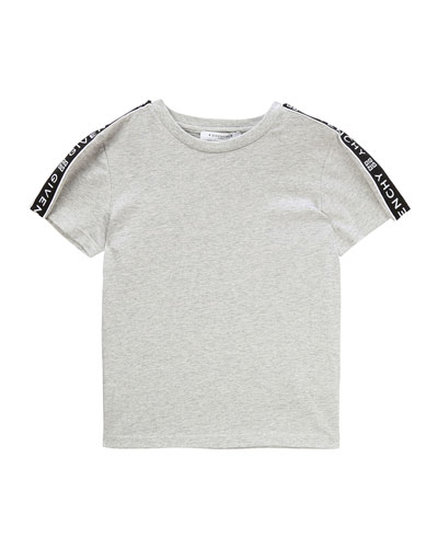 Boy's Logo Trim Mini Me T-Shirt  Size 12-14