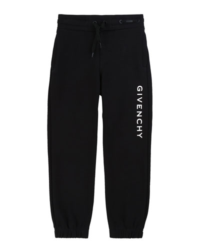 Boy's Logo Mini Me Sweatpants  Size 12-14