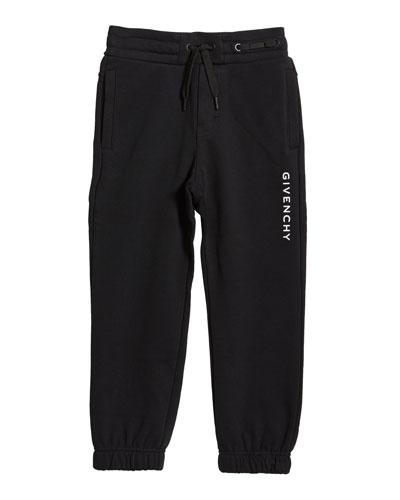 Boy's Logo Mini Me Sweatpants  Size 4