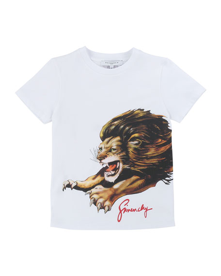 Boy's Lion Graphic Mini Me T-Shirt, Size 4