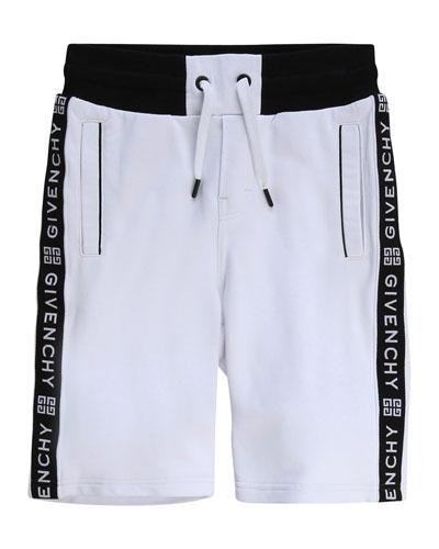 Boy's Logo Taping Drawstring Shorts  Size 12-14