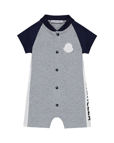 Colorblock Jersey Stretch Shortall  Size 3-24 Months