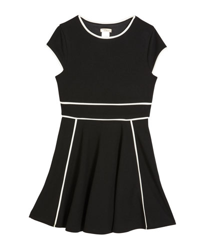 Girl's The Tiffany Stretch Crepe Dress  Size S-XL