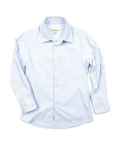 Boy's The Standard Check Dress Shirt  Size 2-14