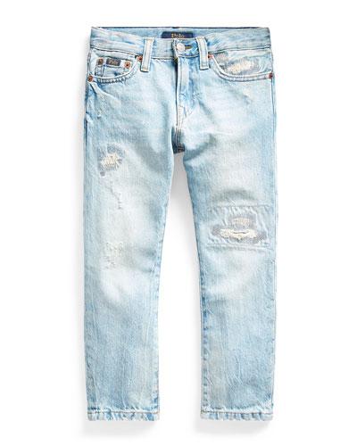 Boy's Sullivan Distressed Slim Denim Jeans, Size 2-4