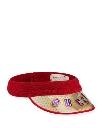 Girl's Logo Tennis Visor