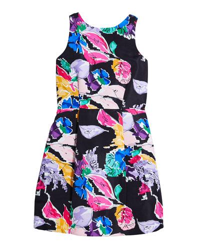 Anabelle Bouquet Faille Dress  Size 7-16