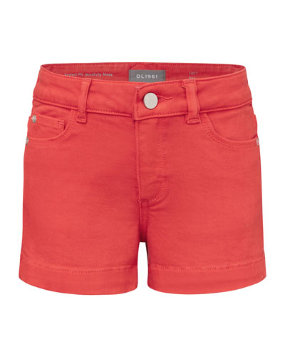 Girl's Lucy Denim Shorts  Size 7-16