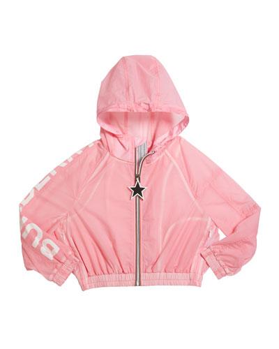 Girl's Thorley Nylon Wind Jacket  Size 3-14