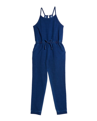 Girl's Loose Knit Jumpsuit  Size 7-14
