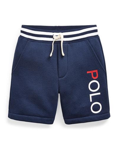 Boy's Yummy Fleece Drawstring Shorts  Size 2-4