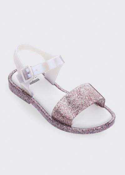 Mel Mar Glittered Sandal, Baby/Kid