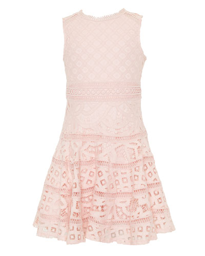 Elise Lace Dress, Size 8-14
