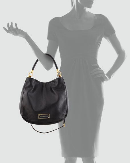 Too Hot to Handle Hobo Bag, Black