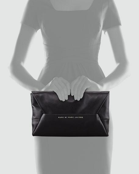 Tangram Anna Clutch Bag, Black