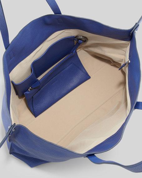 Ai Cervo Medium Shoulder Tote Bag, Blue