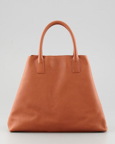 Ai Cervo Medium Shopper Tote Bag, Orange
