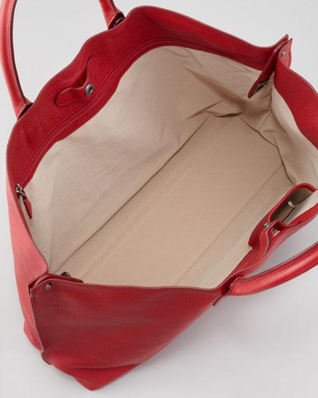 Ai Cervo Medium Shopper Tote Bag, Lipstick