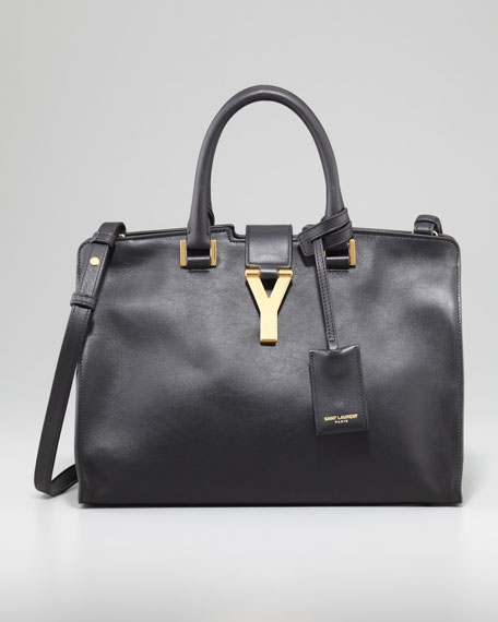 Y Ligne Cabas Mini Bag, Black