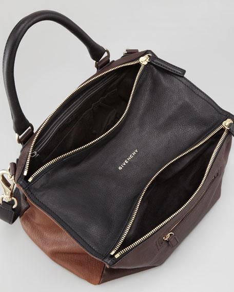 Pandora Medium Colorblock Satchel Bag