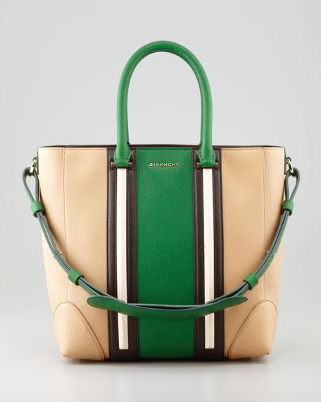 Lucrezia Medium Shopper Tote, Green Multi