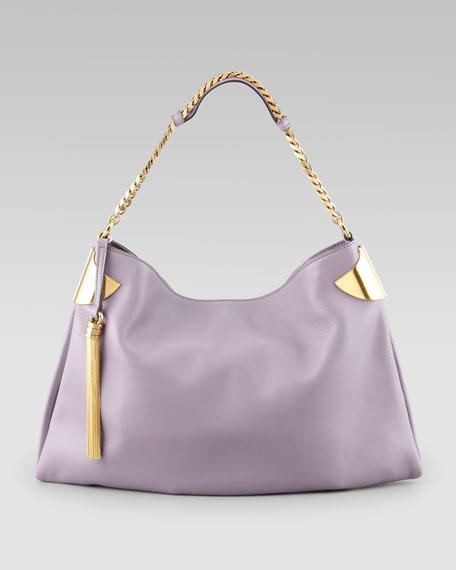 New Slim Hobo Bag, Lavender