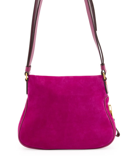 Jennifer Medium Suede Shoulder Bag