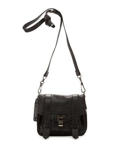 PS1 Pouch Crossbody Bag, Black