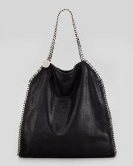 Falabella Large Tote Bag, Black