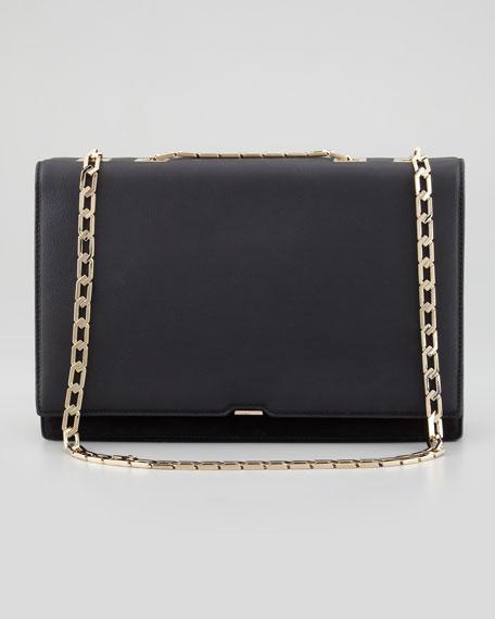 Victoria Beckham Evening clutch wallet with chain pxfU8