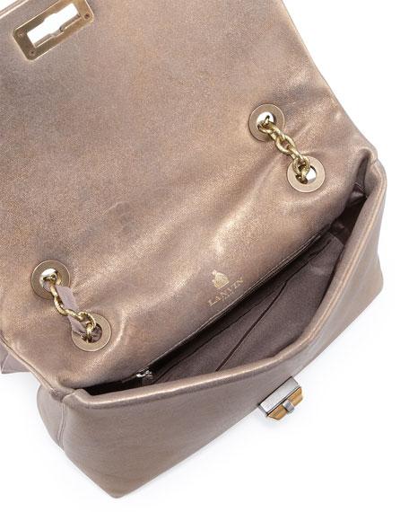 Happy Medium Metallic Quilt-Flap Bag