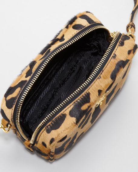 b5bd33e270a8 Prada Leopard-Print Mini Crossbody Bag