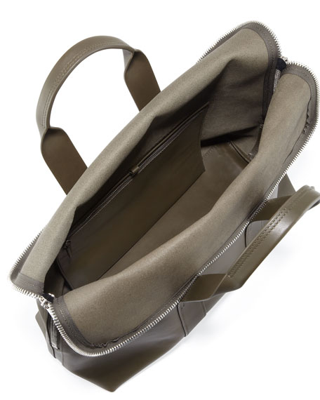 31-Hour Fold-Over Tote Bag, Olive