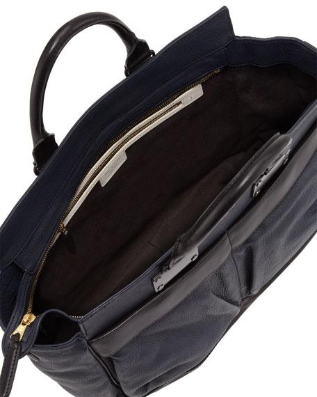 Rag   Bone Pilot Large Leather Satchel Bag 74cf377e69bb3