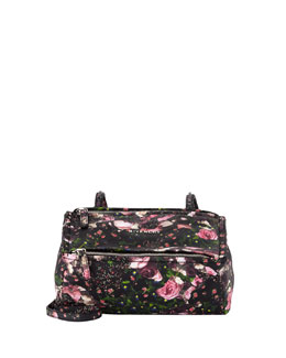 Givenchy Pandora Medium Flower Camo Satchel Bag, Multi